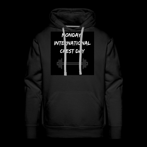 International chest day - Men's Premium Hoodie