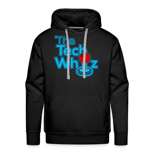 TheTechWhiz Stacked Logo - Men's Premium Hoodie