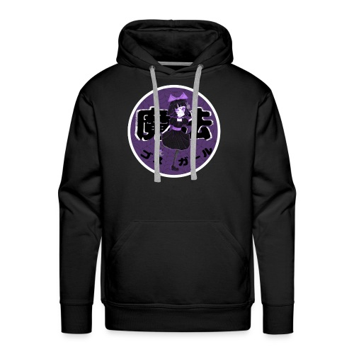 Kawaii Magical Goth Girl - Men's Premium Hoodie