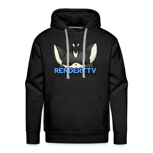 renderttv avatar - Men's Premium Hoodie