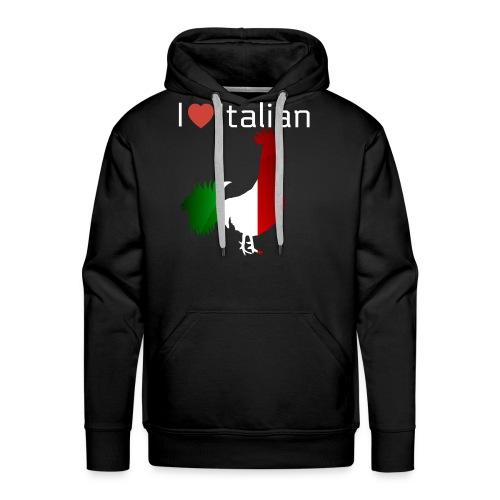 Italian Rooster - Men's Premium Hoodie