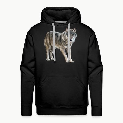 european wolf - Men's Premium Hoodie