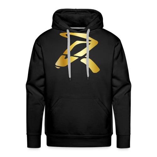 Rizz R Logo GOLD - Men's Premium Hoodie