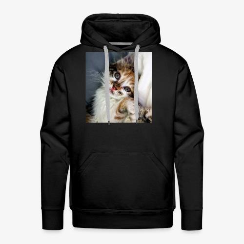 Cute Cat - Men's Premium Hoodie