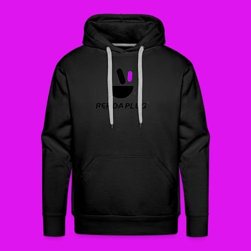 Plug de Música logo - Men's Premium Hoodie