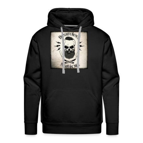BN Rustic Logo - Men's Premium Hoodie