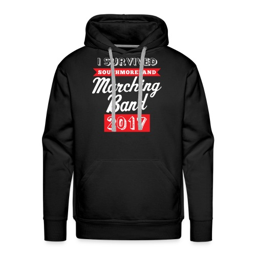 I Survived Marching Band 2017 - Men's Premium Hoodie