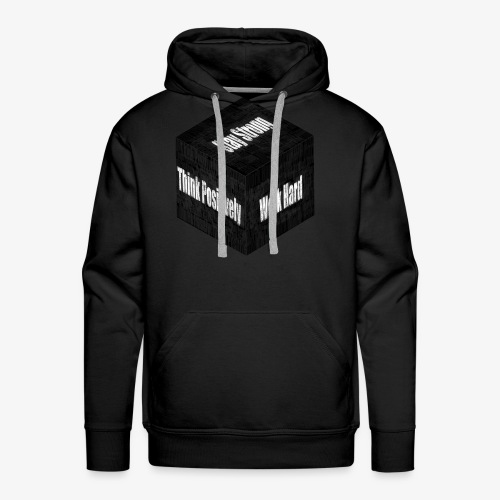 Think, Work And Stay - Men's Premium Hoodie