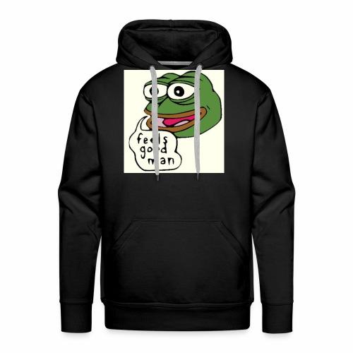 Feels good man, Pepe the frog - Men's Premium Hoodie