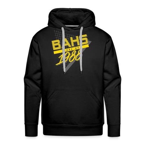 Dark Gray and Yellow Logo for Black Shirt - Men's Premium Hoodie
