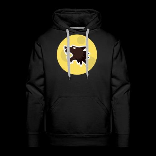 Werewolf Online Moonlight design - Men's Premium Hoodie