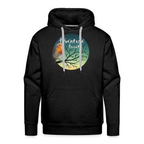 Adventure awaits - Men's Premium Hoodie
