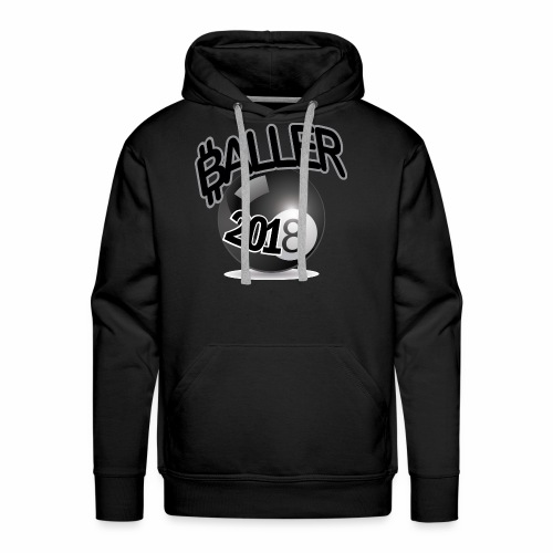 Only Ballers Can Wear This - Men's Premium Hoodie