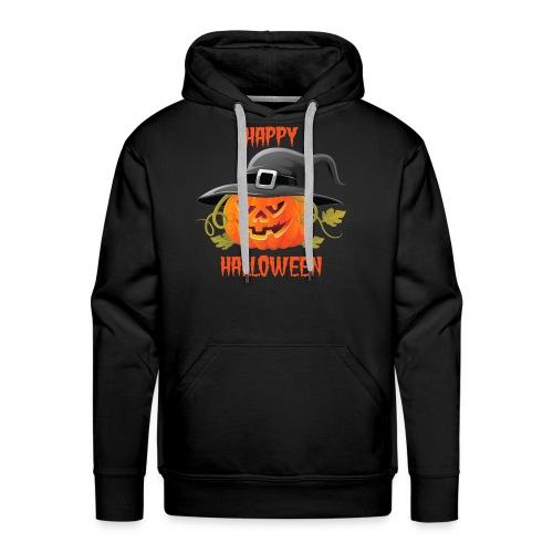 Pumpkin Happy Halloween - Men's Premium Hoodie