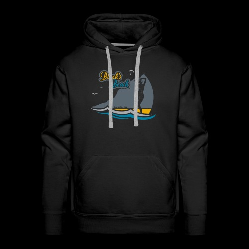 Blacks Beach Gold and Blue - Men's Premium Hoodie