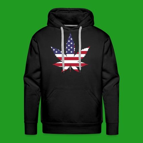 American Leaf - Men's Premium Hoodie