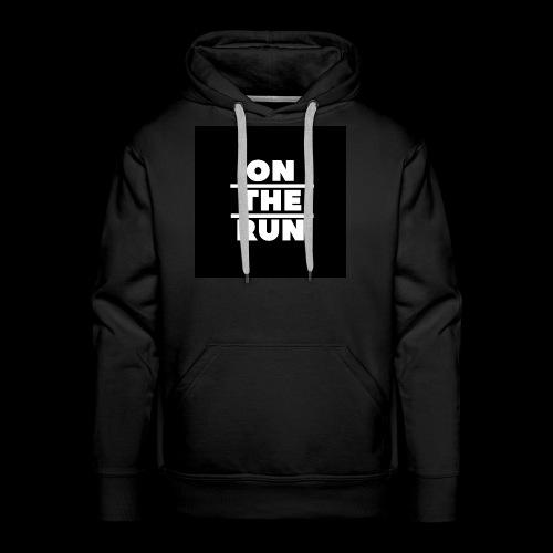 On The Run Classic Design - Men's Premium Hoodie