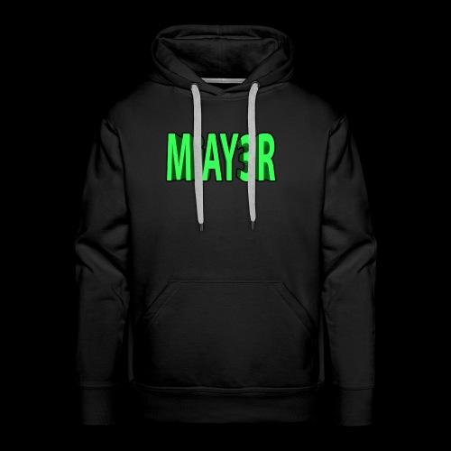 Green MiAY3R Logo - Men's Premium Hoodie