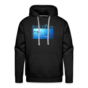 Respect The Shark - Men's Premium Hoodie
