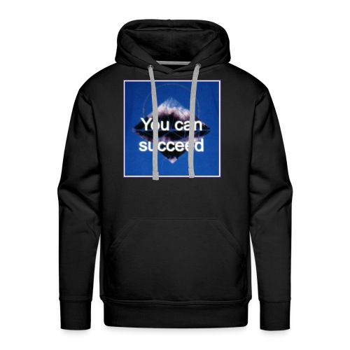 Never give up - Men's Premium Hoodie