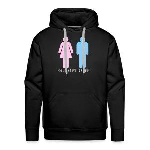 GIRL BOY EMOJii TEE - Men's Premium Hoodie
