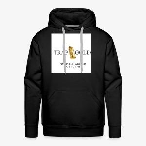 trap gold logo - Men's Premium Hoodie