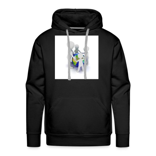 Save The Earth Presnt for all - Men's Premium Hoodie