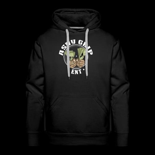 Ashy Grip Logo 1 - Men's Premium Hoodie