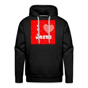 i heart jesus - Men's Premium Hoodie