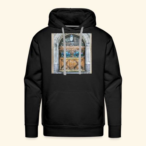 Shut the Front Door Let's Pray ! - Men's Premium Hoodie