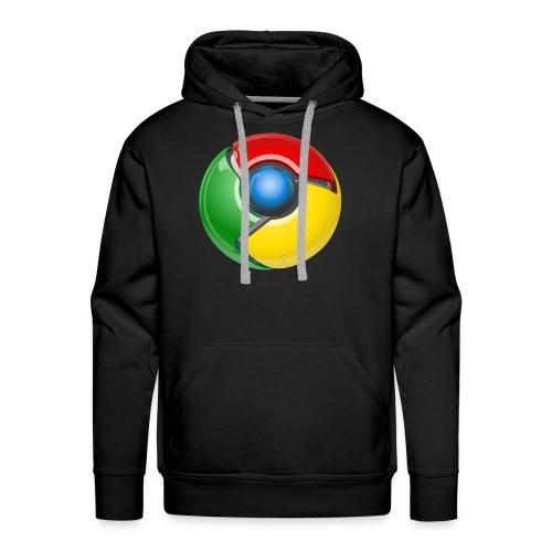 Google chrome logo - Men's Premium Hoodie