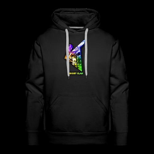 GhosT Clan Abstract Rainbow - Men's Premium Hoodie