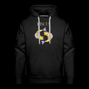 Pisces (Purple and Gold) - Men's Premium Hoodie