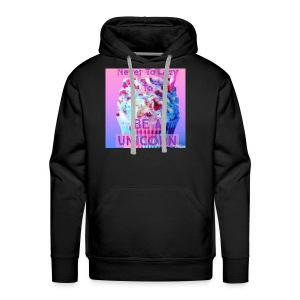 Never To Lazy To Be A Unicorn - Men's Premium Hoodie