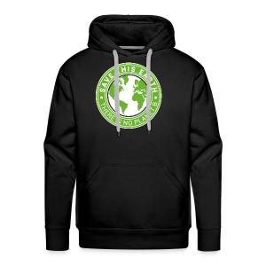 Save this earth - Men's Premium Hoodie