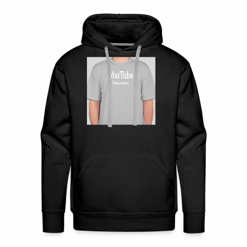 Young explore YouTube shirt - Men's Premium Hoodie