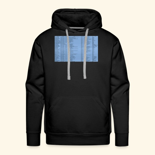 data entry with excel99 - Men's Premium Hoodie