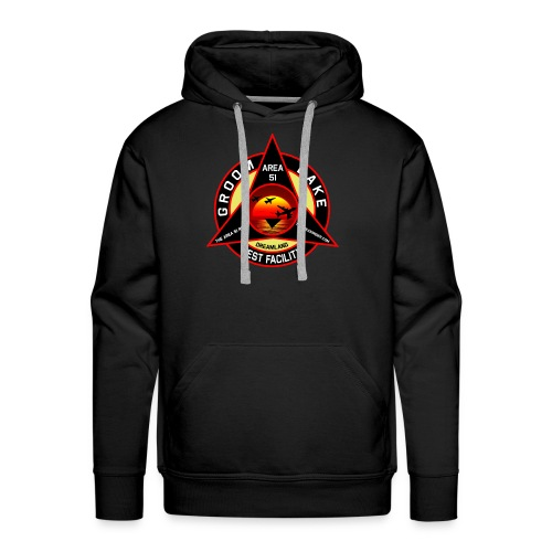 THE AREA 51 RIDER CUSTOM DESIGN - Men's Premium Hoodie