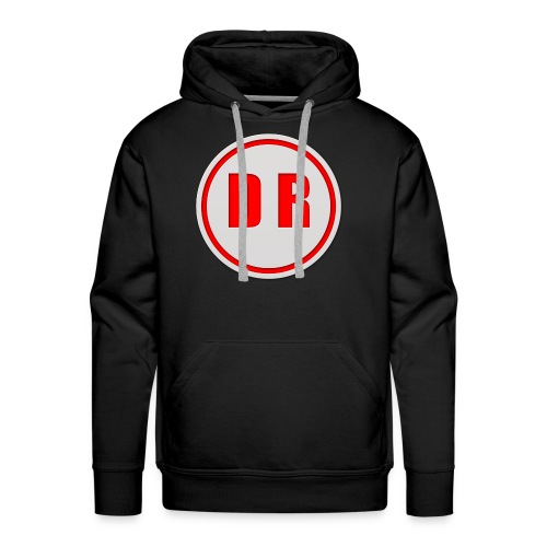 Tis is doctor c logo on youtube - Men's Premium Hoodie
