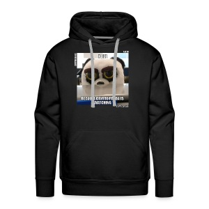 Crypto Panda Is Watching (Crypto Series) - Men's Premium Hoodie