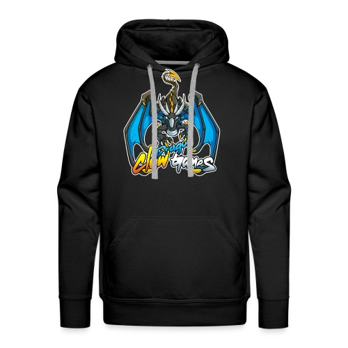 Dragon Claw Games - Full Logo - Men's Premium Hoodie
