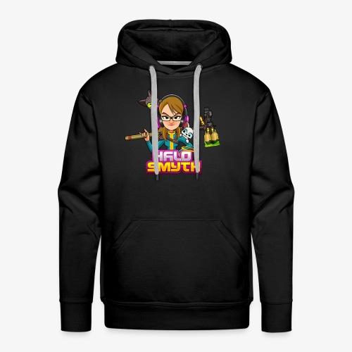 Halo Smyth & Logo - Men's Premium Hoodie