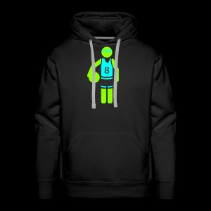 my amazing blab clothing logo - Men's Premium Hoodie