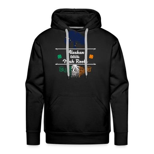 ALASKAN WITH IRISH ROOTS - Men's Premium Hoodie
