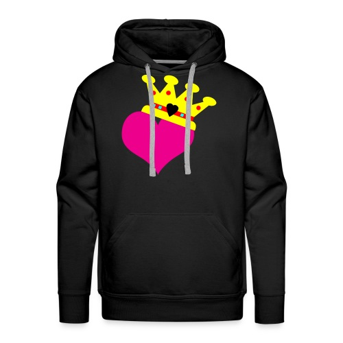 Lil Diamond's Fit for a Queen merch - Men's Premium Hoodie