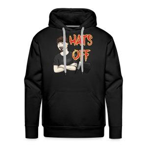Hats Off Logo - Men's Premium Hoodie