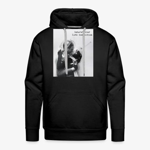 interstellar love connection - Men's Premium Hoodie