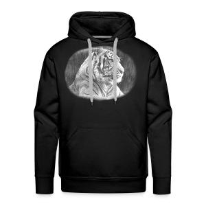 Tiger Sketch - Men's Premium Hoodie