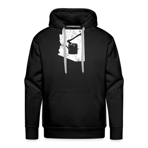 Axe T Shirt Logging Work Shirt Arizona Shirt - Men's Premium Hoodie