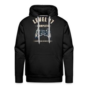Level 17 Complete Video Gaming T Shirt - Men's Premium Hoodie